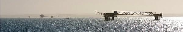 Strait of Magellan Oil Platforms