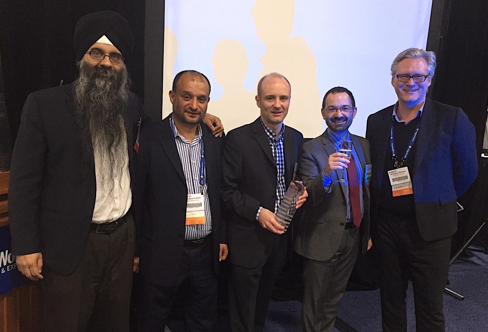With BioIT Award